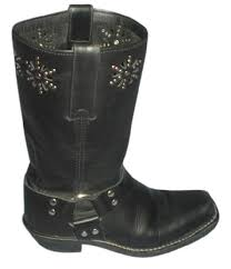 womens boots frye frye black 77700 harness flower motorcycle s boots booties
