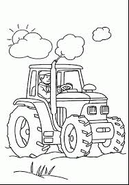 wonderful tractor coloring pages to print with pages to color