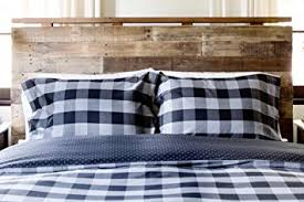 Twin Plaid Comforter Amazon Com Thread Experiment Woven Herringbone Buffalo Check