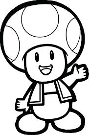 coloring pages toad super mario bros koopa troopa