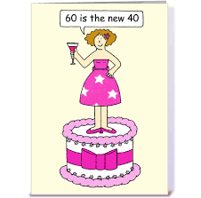 60th birthday card for a lady greeting card by kate taylor card
