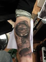 tattoo compass realistic realistic compass and map tattoos