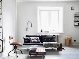 chambre blanche et chambre blanche et bois luxe table metal bois und canapé blanc cuir