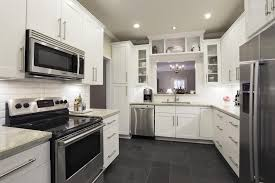 slate appliances with gray cabinets white kitchens with slate appliances trendyexaminer