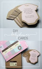 diy baby shower invitations or thank you cards diy baby shower