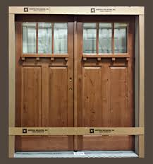 Clear Glass Entry Doors by Knotty Alder Front Entry Door Heritage Millwork Inc Ramsey Mn