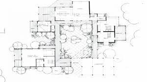 u shaped house plans vintage house plans mid century homes u