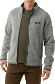 patagonia s better sweater patagonia s better sweater fleece jacket sweater grey