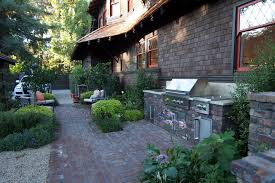 Backyard Grill Ideas Brick Grill Ideas Patio Craftsman With Front Yard Outdoor Kitchen