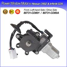 nissan 350z years to avoid aliexpress com buy 1 x new power window motor front left driver