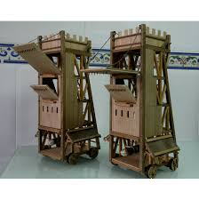 siege machines siege tower scale 1 32 tutoreto