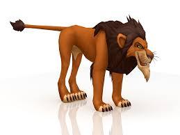 disney lion king scar 3d model 3ds max files free download