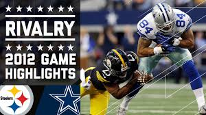 tony romo leads cowboys past steelers week 15 2012