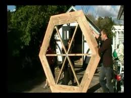 Plans For Building A Wood Picnic Table by How To Build A Hexagonal Picnic Table Youtube