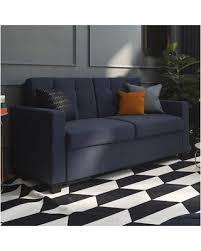 Navy Sleeper Sofa Deals On Jovita Sleeper Sofa Color Navy Size