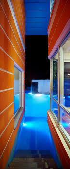 7 ultra modern staircases ultramodern orange house takes home lighting to extreme