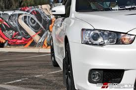 silver mitsubishi lancer black rims 18x9 drag dr 49 matte black wheels on mitsubishi lancer evo w
