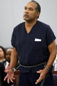 O.J. Simpson, shown during his