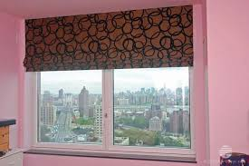 Flat Roman Shades - roman shades roman shade selection brooklyn new york nyc
