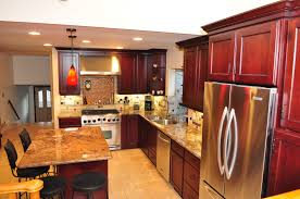 cherry sable coffee dynasty kitchen cabinetry photo gallery