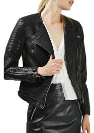biker jacket topshop topshop nelly faux leather biker jacket outerwear shop