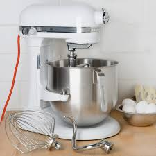 5 Quart Kitchenaid Mixer by White Kitchenaid 8 Qt Commercial Mixer Ksm8990wh Webstaurantstore