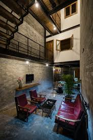 zen house a multi storey home for a buddhist family in vietnam