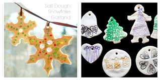 11 salt dough ornaments can make twists on the traditional