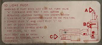 Frigidaire Oven Pilot Light Pilot Lighting Appliance Aid