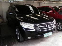 hyundai santa fe 2007 black hyundai santa fe 2007 black for sale philkotse com