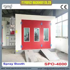 chambre de peinture automobile spo 4000 cabinet cabine de pulvérisation pas cher cabine de peinture