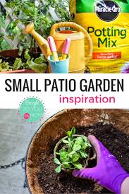 small patio garden inspiration brought to you by mom family