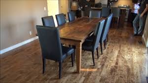 mennonite furniture kitchener mennonite built reclaimed wood harvest tables on vimeo