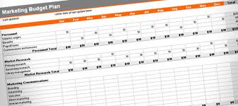 5 best images of marketing plan budget template marketing budget