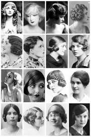 1920 u0027s hairstyles depicting some of the hairstyles of the time