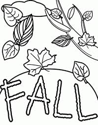 fall coloring pages for preschoolers with regard to property