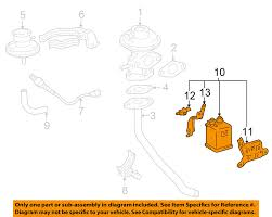 lexus es300 charcoal canister replacement toyota oem vapor canister fuel gas emission 7774006093 ebay