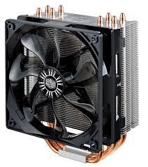 cooler master cpu fan cooler master hyper 212 evo cpu air cooler 4 heatpipes 1 x 120mm