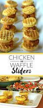 chicken u0026 waffle sliders