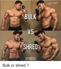 Bulking Memes - bulk vs shred 8 weeks onmai delgadd bulk or shred meme on me me