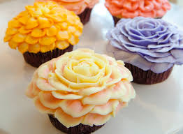 cupcake flowers flower cupcakes magnolia bakery