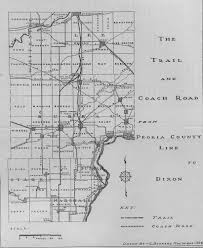 Galena Illinois Map by Galena Trail And Coach Road