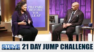 Challenge And Steve Are You Ready To Jump With Steve Steve Harvey