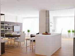 walnut white kitchen diner interior design ideas