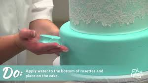 protip how to make fondant rosettes youtube