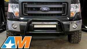 Led Flood Light Bars by 2009 2016 F 150 Raxiom 21 5