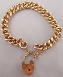 chain links bracelet images 9ct rose gold 7 5 inch hollow chain link bracelet weighs 21 5 jpg