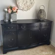 black painted sideboard with tips for a perfect finish furniture