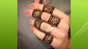 fantastic mehandi designs for fingers dailymotion