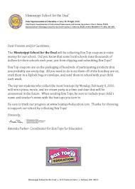 box tops for education ms for the deaf